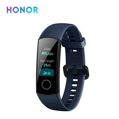 "Honor Band 4 Montre Connectée GPS - Bracelet Imperméable Intelligent 0.95""-Bleu"