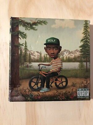 Tyler The Creator Wolf 2013 Album Deluxe Edition Cover Silk Cloth Poster Y591