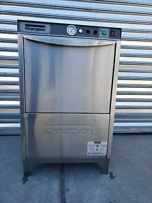 Champion UL-130 Under-Counter Dish Washer. Warranty