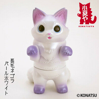 Konatsuya FLUFFY NEGORA MIMILA Apple Pie Color Devilrobots sofubi vinyl figure