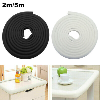 5M Kids Baby Safety Foam Rubber Bumper Strip Safety Table Corner Edge Protector