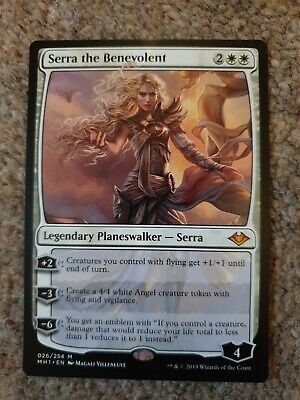 Serra the Benevolent Modern Horizons Mythic Rare Magic//mtg
