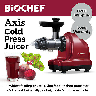 BIOCHEF AXIS COLD Press Masticating Juicer Best Celery and
