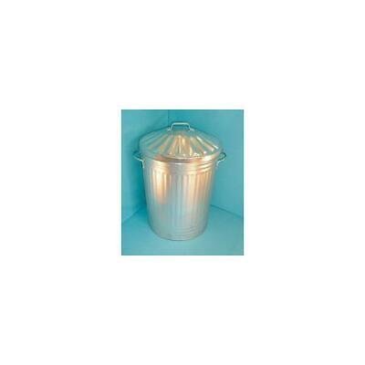 344197 , Galvanised Dustbin with Lid 90 Litre