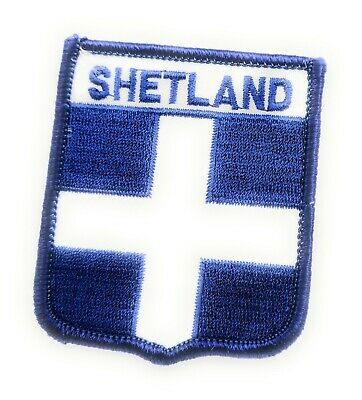 NORFOLK COUNTY SHIELD Embroidered Sew on Patch Approx 70mm FREE UK Delivery!