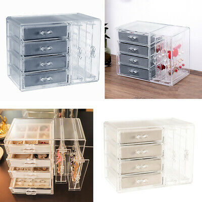 Deluxe Ice Box Makeup Holder Drawers