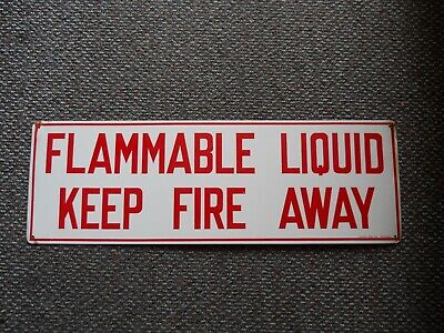 Eagle C-97 Flammable Keep Fire Away Decal Eagle Manufacturing