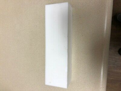 approx 12mm x 68mm x 135mm sheet,plate PTFE Teflon block