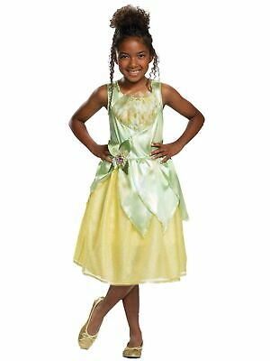 Girl Costume The Princess and The Frog Dress Set Halloween Party Dancing Fantasy