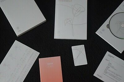 BTS Love Yourself Her V Version CD Photobook Notes Photocard Stickers Poster