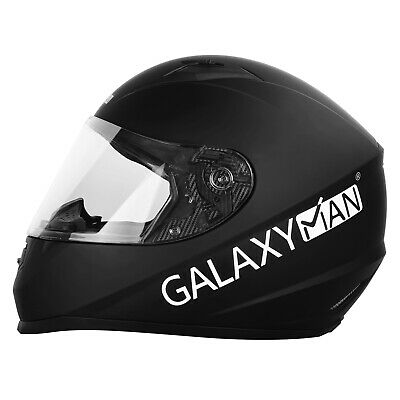 Galaxyman Safety Full Face Motorcycle Helmets Visor Street Ride Motorbike Helmet