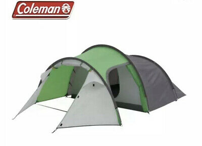 COLEMAN CORTES 3 Man Tent Camping Festival Brand New Green