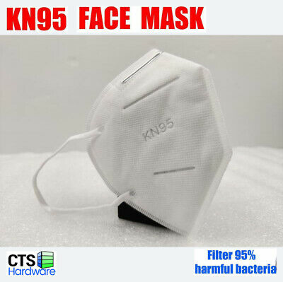 1/5/50/100 TUV certified 5 Layers KN95 Face Mask BFE > 95% Disposable Respirator