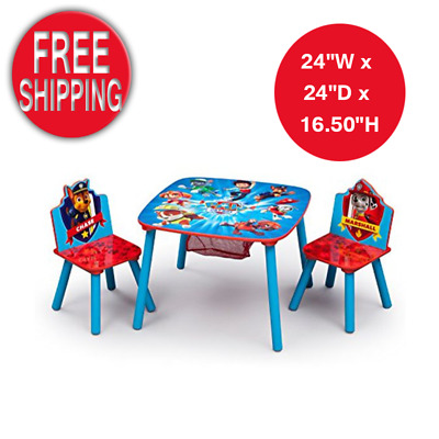 Paw Patrol Activity Desk Table With Magnetic Scribbler Portable Kids Drawing Set