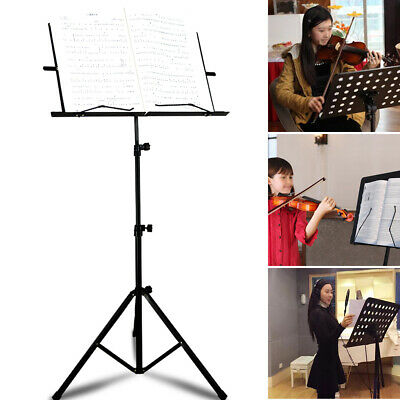 Foldable Music Stand/Holder/ Base Tripod Heavy Duty Orchestral Conductor UK