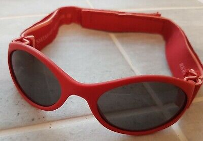 Baby Sunglasses Strap Red stretchy strap