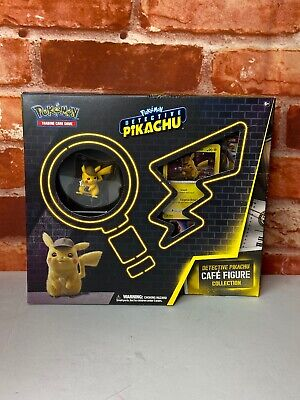 Pokemon Detective Pikachu Cafe Figure Collection Box - Brand new