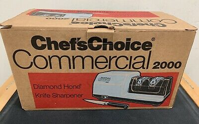 Chef's Choice - 2000 - Electric 2 Stage Knife Sharpener + Extra Module