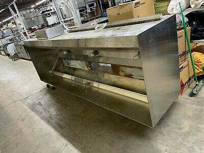 12' Used Commercial Vent Hood