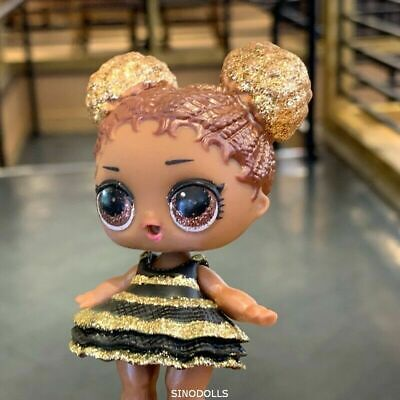 LOL Surprise Doll Glitter Queen Bee Series 1 /& BAG L.O.L  sdus