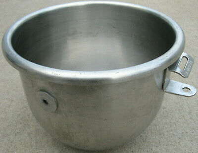 Hobart A-200-12 Stainless Steel 12 Qt Bowl for Hobart Mixer Bowl