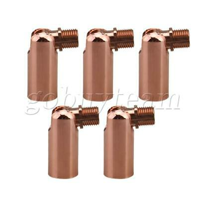 5x Rose Gold Joint Connector Iron Wall Fixtures 180 Degree Steering M10