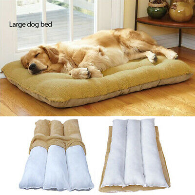 Orthopedic Dog Bed Pet Lounger Deluxe Cushion for Crate Foam Large X-Large XXL