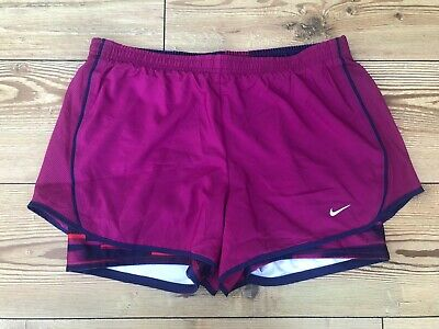 Ladies Women/'s Nike Dry  Training Shorts 2in1 blue  Extra Small  831346-425