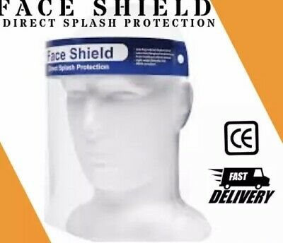 1 PACK Safety Full Face Shield Clear Protector Work Industry Dental Anti-Fog