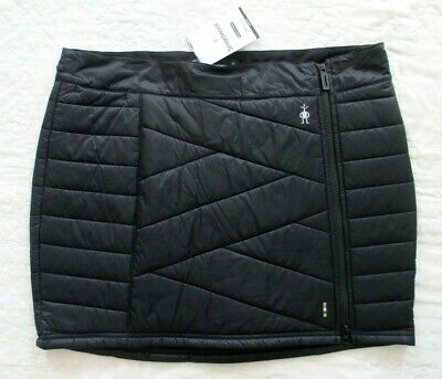 SMARTWOOL Women's Smartloft 120 SKIRT Black Zipper Size Large L  NWT