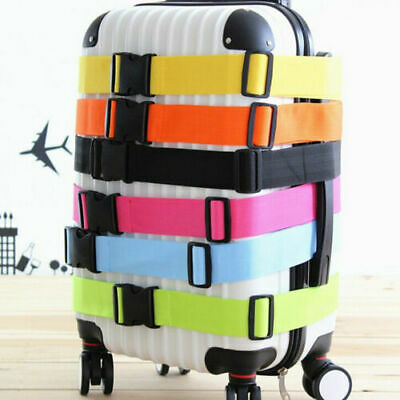 Adjustable Strong Luggage Travel Strap Backpack Tie Belt For Suitcases Case