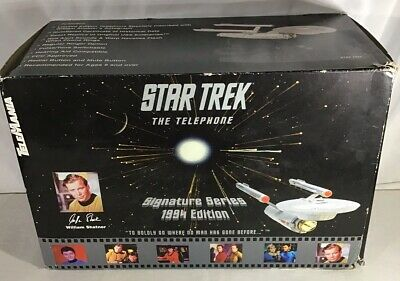 Star Trek The Telephone Collectors Edition In Original Box Bnib