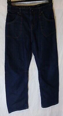 Boys Matalan Dark Blue Denim Adjustable Waist Relaxed Fit Jeans Age 13 Years