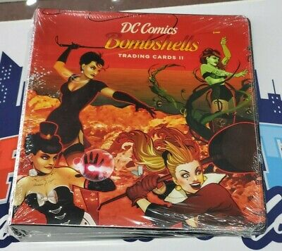 Cryptozoic DC Bombshells Series 2 Trading Cards Official Binder with 3 Card Set