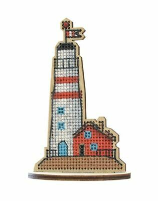 Lighthouse Guiding Star Counted 24 x 29cm 16ct Cross Stitch Kit OVEN//OBEH