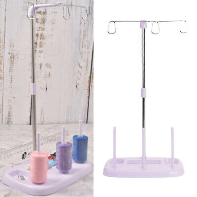 Industrial Steel Sewing Machine 2 Cone Spool Thread Stand Holder Sewing Tool