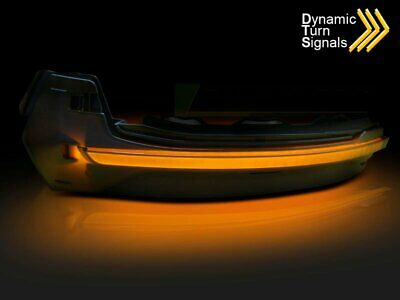 Pair LED Dynamic indicators for wing side mirrors AUDI A3 8V 2012-2016 Smoke IT