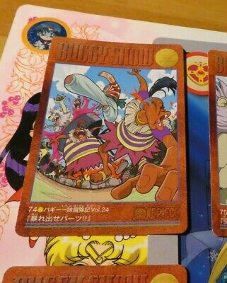 ONE PIECE VISUAL ADVENTURE CARDDASS CARD REG CARTE 78 MADE IN JAPAN 2000 **