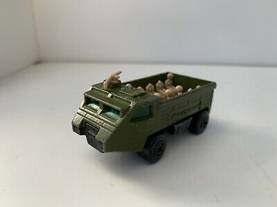 Rare Matchbox Super Fast Metal Car Vehicle Army Personnel Carrier Toy Set 0 99 Picclick Uk