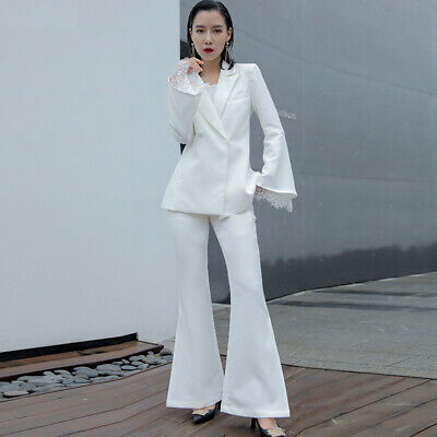 Womens Suits Formal Pant Suits Weddings Prom Women Business Female Trouser Suits 58 99 Picclick Uk