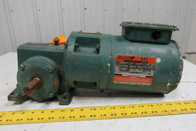 Reliance Electric 56WM16A 50:1 Gearbox Speed Reducer W/3/4HP 230/460V Motor
