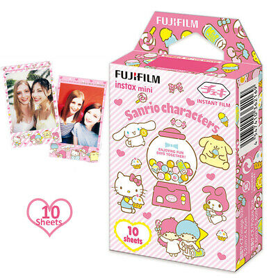 Fujifilm Instax Sanrio Characters Color Film 10 Sheets Fuji 7 8 9 11 LiPlay LINK