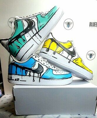 nike air force one cartoon custom