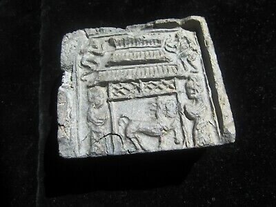 HAN DYNASTY 206 BC-220 AD  Ancient Chinese ANTIQUE Tomb Brick Monkey Warrior