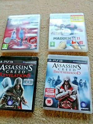 4 X Playstation 3 Games Pre Owned