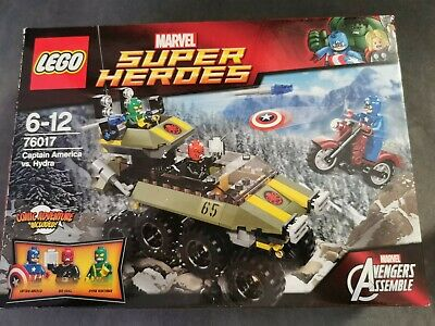 Lego Marvel Super Heroes Captain America Cycle Only split from 76017