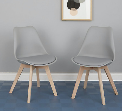 JERRY Set of 6 grey dining chairs | Buy