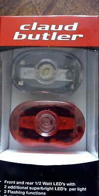 3 LED Claud Butler Excalibur 2 Front Bicycle Light