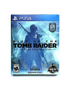 Rise Of The Tomb Raider 20 Year Celebration Ps4 Collectable Art