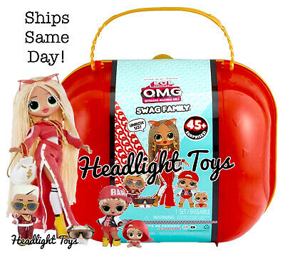 New Lol Surprise Swag Family Omg Fashion Doll Big Brother Sister Lil Mc Hammy 94 50 Picclick